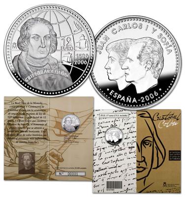 Moneda de 12 euro2006